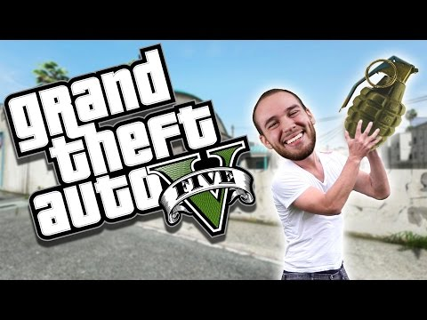 GRENADE GAMES WITH THE LVL 1 NOOB!! GTA 5 Online Funny Moments