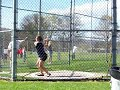 Ashley Lathrop Qualifying for Regionals in the Hammer