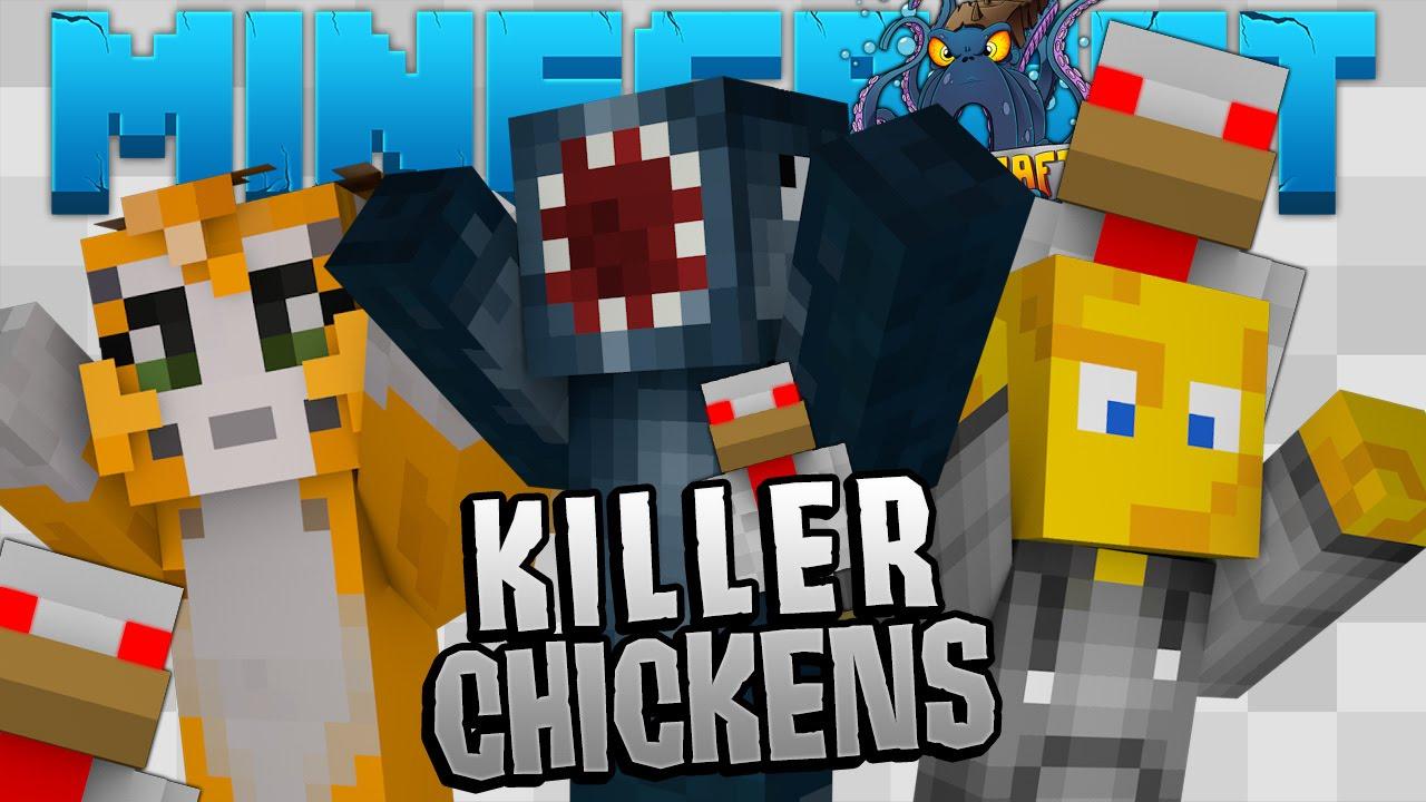 Minecraft crazy craft 2 2 killer chickens 5 youtube