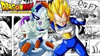 Dragon Ball Z: Frieza Conquest - SSJ Vegeta Vs Frieza (Fan Manga Review)