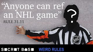 Why two NHL players had to ref their own game | Weird Rules