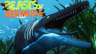 download lagu Beasts Of Bermuda - Caçando Com Mosasaurus, Ataques Aquáticos gratis