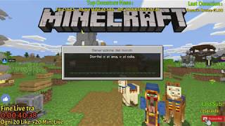 ✪ Live Minecraft SkyBlock ✪ Nintendo Switch *BEDROCK EDITION*