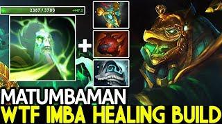 Matumbaman [Necrophos] WTF Imba Healing Build Cancer Game 7.21 Dota 2