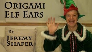 Origami Elf Ears Tutorial