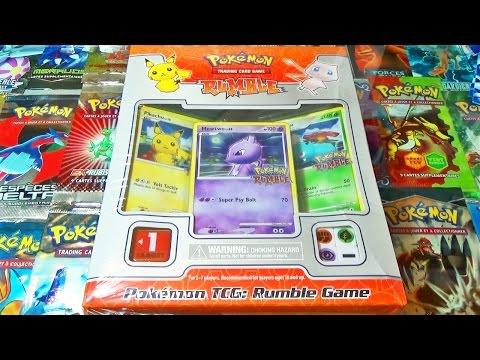 Ouverture D'un Coffret Pokémon Rare Rumble !  Des Cartes De Pokemon ModifiÉes ! video