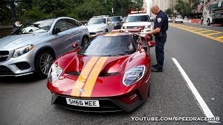 Pulled over in the Ford GT!
