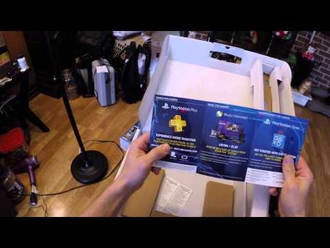 Playstation 4 PS4 Grand Theft Auto V Bundle Unboxing. Assembly. Review!