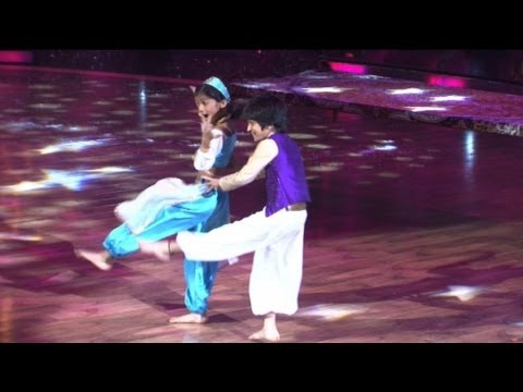 Contestants performing on Jaane Kyun Dil Jaanta Hain - On the...