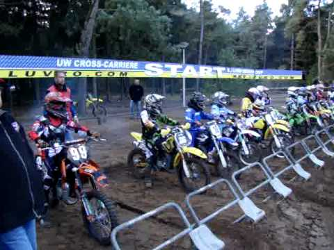 Motocross op de Koetree in Hellendoorn