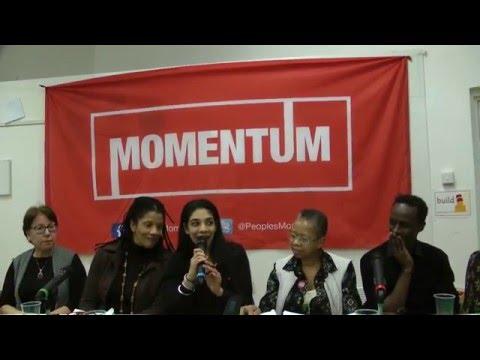 Camden Momentum Meeting Anti-Racism & the New Politics 24 Feb