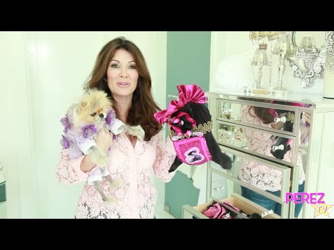 Lisa Vanderpump Gives A Tour Of Giggy's Wardrobe!