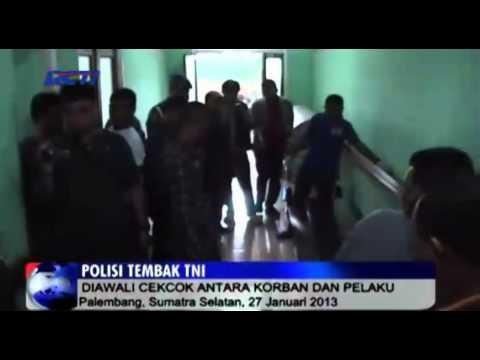Polisi Tembak TNI