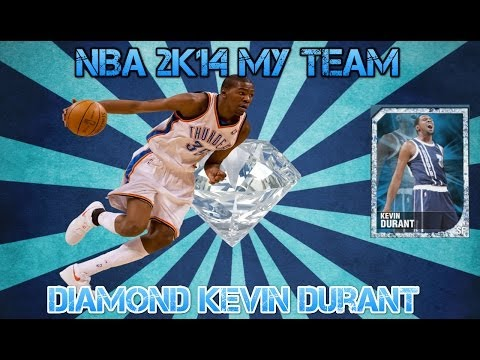 NBA 2K14 My Team - Diamond Kevin Durant Gameplay/Player Review!