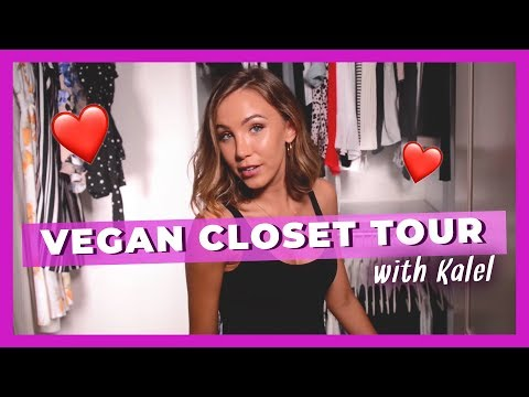 Kalel's Fall Vegan Closet Tour!