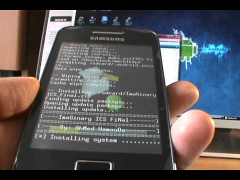 Rom Imaginary ICS Final para Galaxy Ace S5830L (Español)