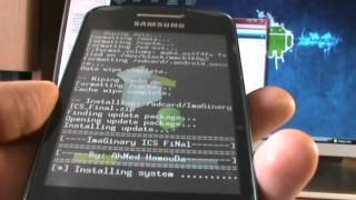 Rom Imaginary ICS Final - Galaxy Ace S5830/B/L (EspañolMX)