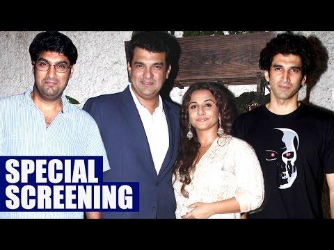 Hamari Adhuri Kahani Screening : Vidya Balan Watches The Film With Family