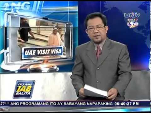 Bagong patakaran sa pagkuha ng visit visa sa UAE