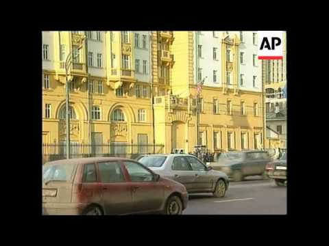 RUSSIA: US EMBASSY OFFICIAL ORDERED TO LEAVE MOSCOW