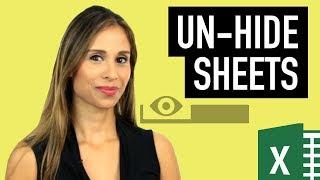 3 Methods To Unhide All Sheets In Excel How To Hide