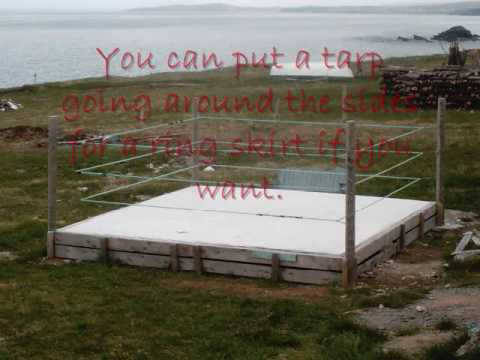 How To Make A Wrestling Ring Bed
