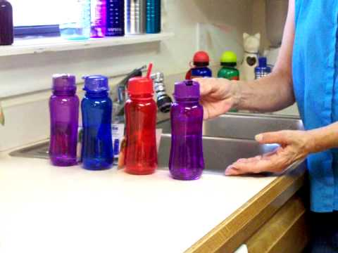 BPA Free- 8oz lunch box water bottles with Straw