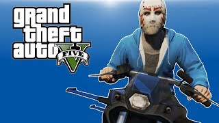 GTA 5 PC Online - Gunrunning DLC Funny Moments! - (ROCKET BIKE & BIG TRUCKS!)