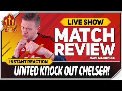 Goldbridge POGBA Beats HAZARD Chelsea 0-2 Manchester United