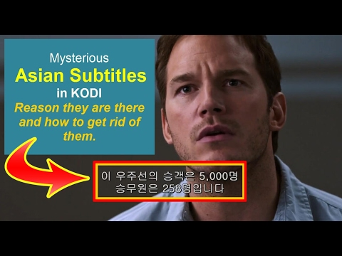 Asian Subtitle - Mystery Solved