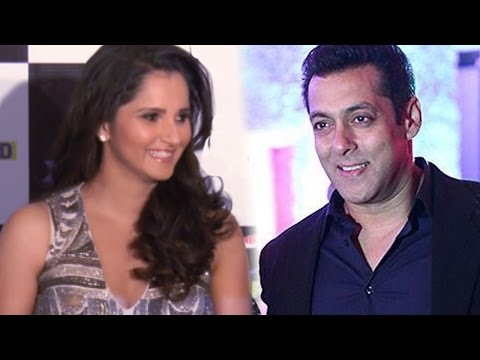 Whom Does Sania Mirza Want Opposite Salman Khan? video