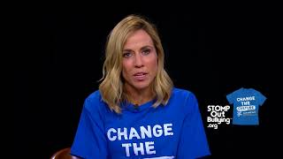 Sheryl Crow BLUE SHIRT DAY® WORLD DAY OF BULLYING PREVENTION™ 2017