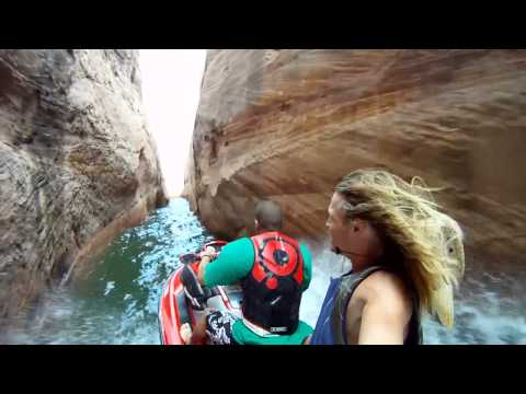 GoPro + Jetski + Lake Powell = FUN!