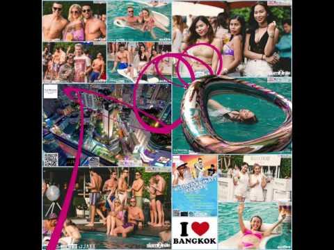 Swimming pool party July 23 2016 Bangkok