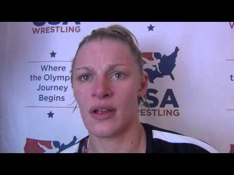 Erin Clodgo, 63 kg women's Champion at U.S. Open