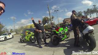 POLICE vs  BIKERS 2018 Police Chase, Getaways & Pullovers! 2018 [Ep #50]