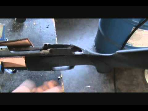 Mosin Nagant Custom Sniper Rifle Bedding the Pillars. $25 mistake