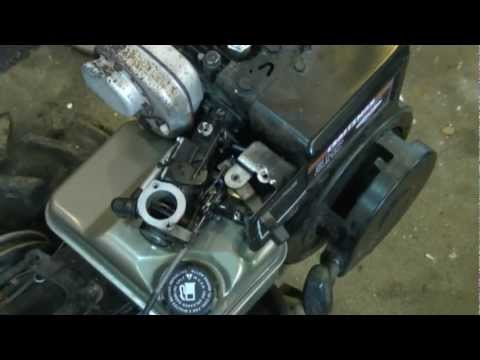 Choke. Throttle & Governor Linkage Configuration on Briggs & Stratton 4-5Hp Engines