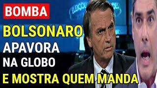 APAVOROU! Bolsonaro SE CANSA APÓS PRIMEIRO TURNO e mostra quem manda em entrevista na Globo