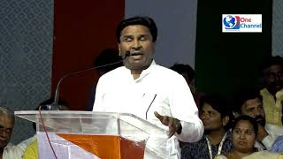 SPEECH OF BASAVRAJ  PATIL MURUMKAR  AT CONGRESS NCP NANDED RALLY ON 20 FEB 2019