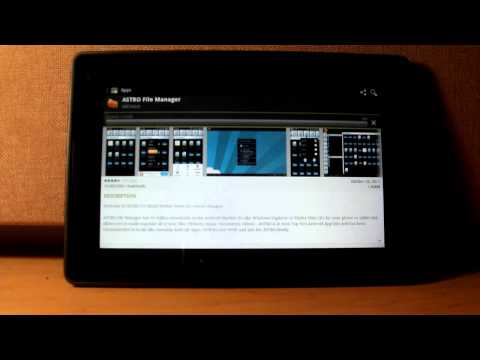 Android Market, Android Native Email and Google Apps on the BlackBerry PlayBook