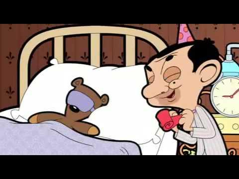 Mr Bean Cartoon ''Birthday Bear'' 3gp