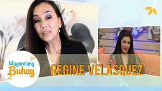 Magandang Buhay Regine Receives A Message From Her Idol Kuh Ledesma