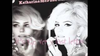 Watch Katharine Mcphee Last Letter video