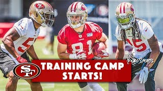 Live! 49ers Training Camp Richard Sherman Cleared, Trent Taylor On PUP, Malcolm Smith On NFI