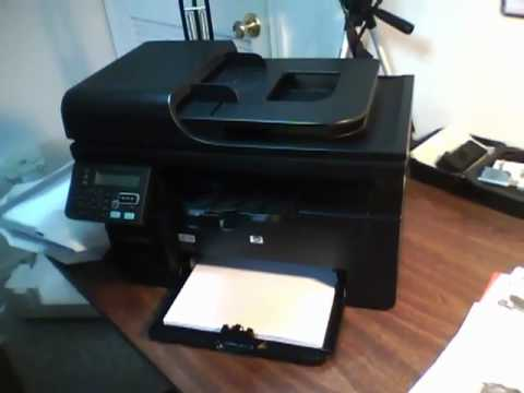 Hp Laserjet Pro M1212nf Mfp Unboxing Pt Ii Youtube