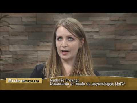Nathalie Freynet, Doctorante à l'École de psychologie - L'initiative 1 sur 5 - Entre nous