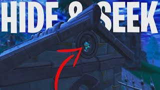 HIDE & SEEK #6 MINI-GAME!  - Fortnite: Battle Royale Playground (Nederlands)