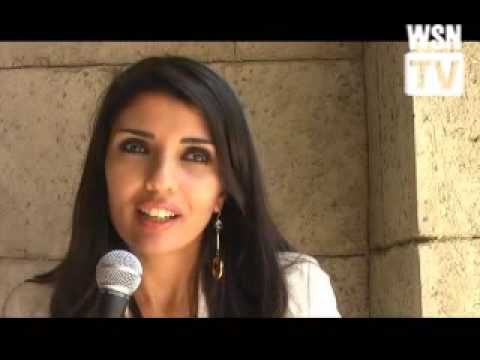 Saudi TV Journalist Nadine Al Bedair Women in Saudi Arabia