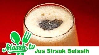 Jus Sirsak Selasih - Soursop Juice | Minuman #069